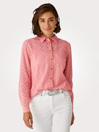 Blouse in broderie anglaise