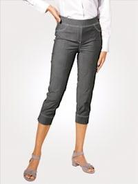 7/8-Schlupfhose in Jeans-Optik
