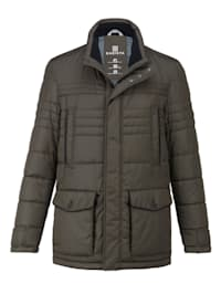 Prešívaná bunda s optimálnym komfortom nosenia v prechodnom období