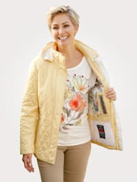 Jacket with ComforTemp microcapsules