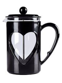 Presskanne til kaffe & te -Hjerte-