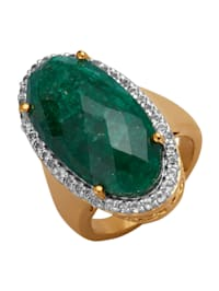 Damenring mit Smaragd