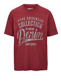 Tekstiprintillinen T-paita