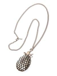 Öko Halskette Pineapple mit plastikfreiem Versand