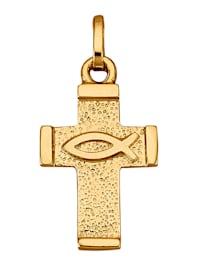 Hanger Kruis van 14 kt. goud