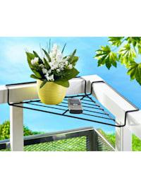 Balkong-hjørnehylle