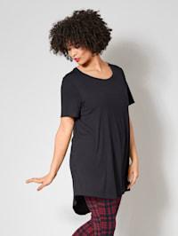 Longshirt met iets langere achterkant
