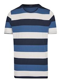 Maritimes T-Shirt mit Ringel-Muster