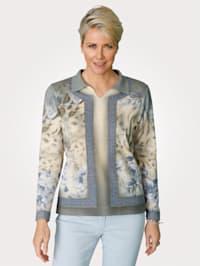 Pullover mit Strass-Steinchen