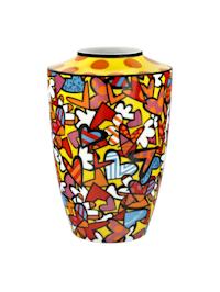 Goebel Vase Romero Britto - All we need is love