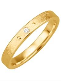 Trouwring metdiamant