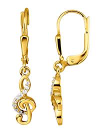 Øredobber i gull 375