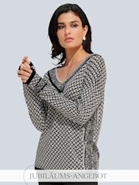 Pullover im exklusiven Print