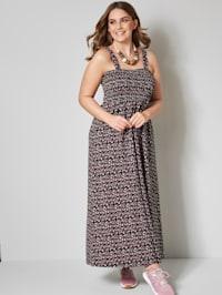 Kleid mit Tupfendruck