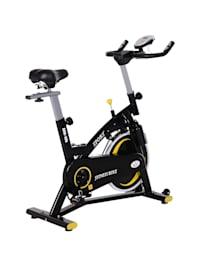 Fahrradtrainer mit stufenlosem Magnetwiderstand