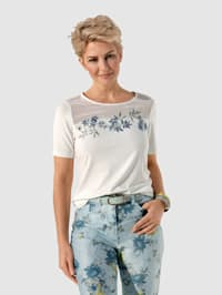 T-shirt à broderie originale
