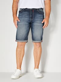 Jeansbermuda in 5-pocketmodel