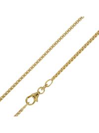 Halskette für Anhänger 333 Gold 8 Karat Venezianer 1,5 mm breit