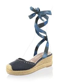 Sandalette zum Hochbinden