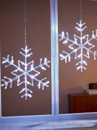 LED-dekoration – snöflinga