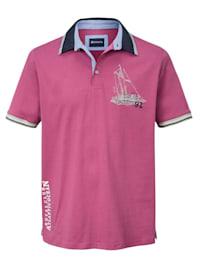 Poloshirt in maritieme stijl