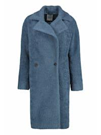 Mantel in legerer Passform