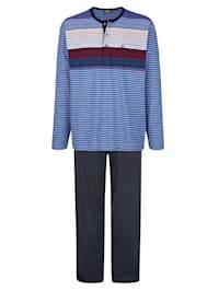 Pyjamas i temperaturutjämnande material