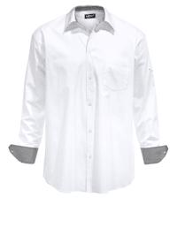 Skjorta med mer plats för magen