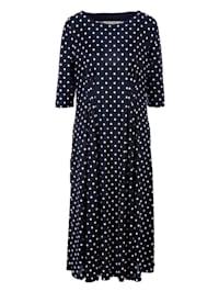 A-Linien-Kleid in Midi-Länge