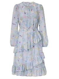Kleid mit Volant