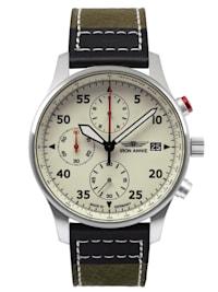 Herrenuhr Chronograph F13 Tempelhof Grün/Schwarz