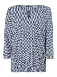 3/4-Arm-Shirt mit Zierborte