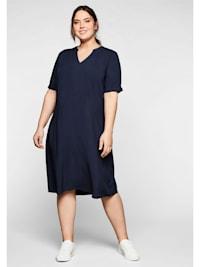 Kleid aus leichter Viskose, in A-Linie