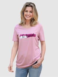 Shirt mit schönem Schriftzug
