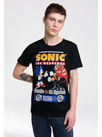 Print T-Shirt Sonic mit lizenzierten Originaldesign