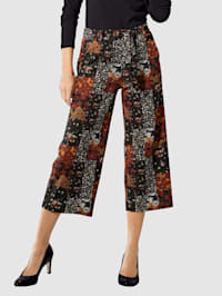 Culotte in patchworklook