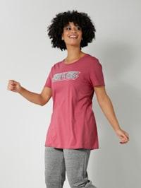 Shirt met statementprint