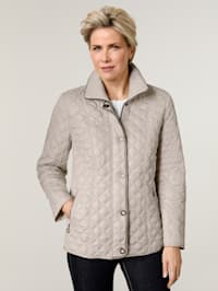 Jacket with on-trend quilting