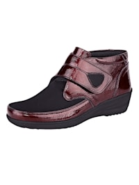Velcro Ankle boots Stretchy material