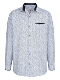 Hemd mit Paisley-Druckmuster