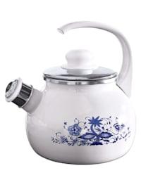 Čajník s cibuľovým vzorom