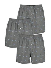 Boxershorts med tryckt mönster
