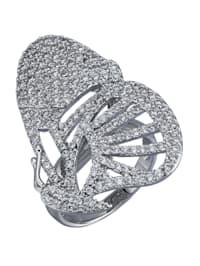 Ring met vlindermotief
