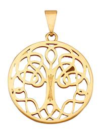 Hänge – livets träd i guld 9 k