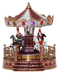 Karusell med LED-belysning