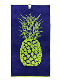 Strandtuch Velour 'Pineapple'