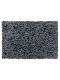 Badteppich Chenille Mouse Grey, 50 x 80 cm