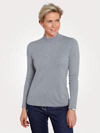 Pullover mit Merino-Wolle