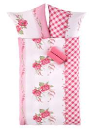 Mikrovlákno-krepová posteľná bielizeň Marlies, 2-d.