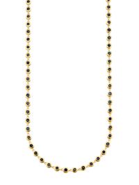 Halsband med safirer